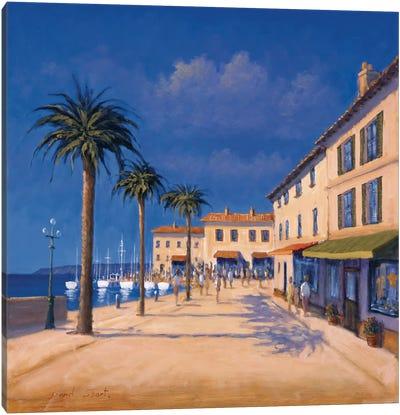 Seaside Promenade II Canvas Art Print