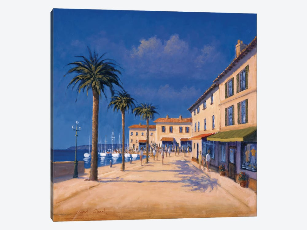 Seaside Promenade II by David Short 1-piece Canvas Wall Art