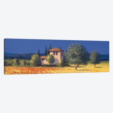 Summer Fields I Canvas Print #DSH12} by David Short Canvas Print