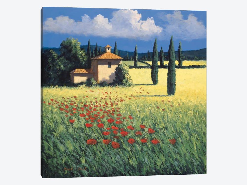 Summer's Brilliance by David Short 1-piece Canvas Artwork