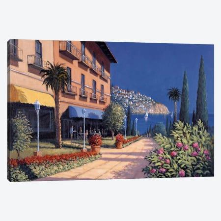 Memory Lane Canvas Print #DSH5} by David Short Canvas Art