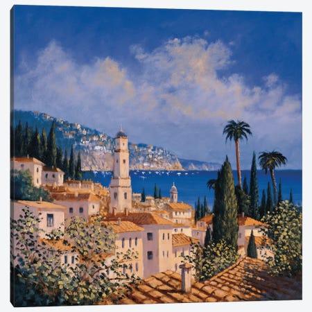 Paradise Getaway I Canvas Print #DSH8} by David Short Canvas Art Print