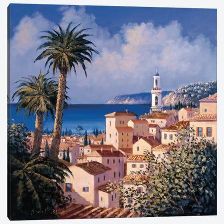 Paradise Getaway II Canvas Print #DSH9} by David Short Canvas Print