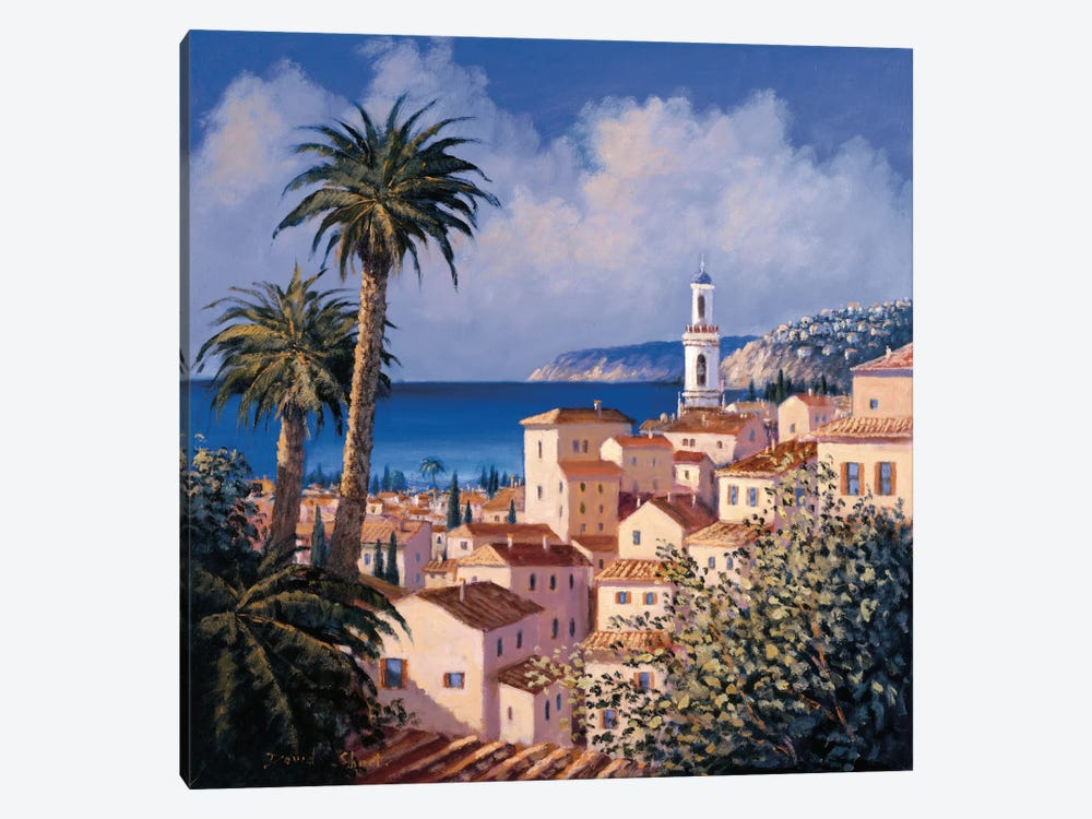 Paradise Getaway II by David Short 1-piece Canvas Art Print