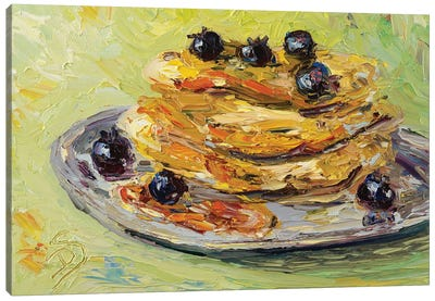 Pancake Sunday Canvas Art Print