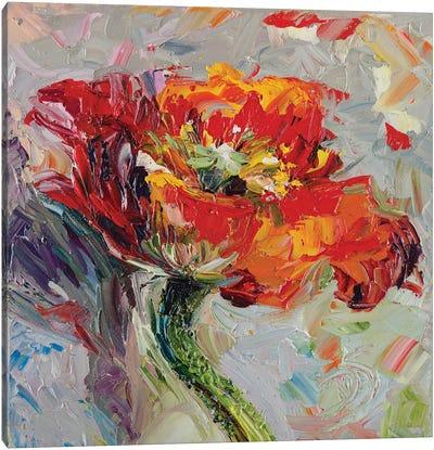 Poppy Luster Canvas Art Print