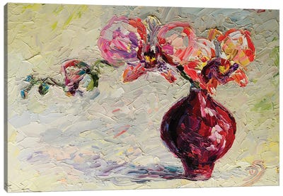 Mixed Red Feelings Canvas Art Print