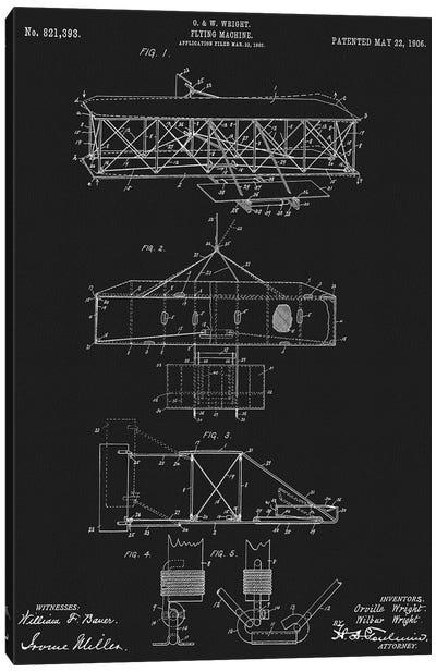 Flying Machine 1906 Canvas Art Print