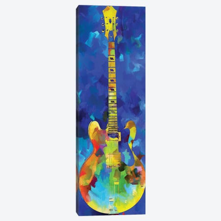 Guitar Canvas Print #DSP104} by Dan Sproul Canvas Wall Art