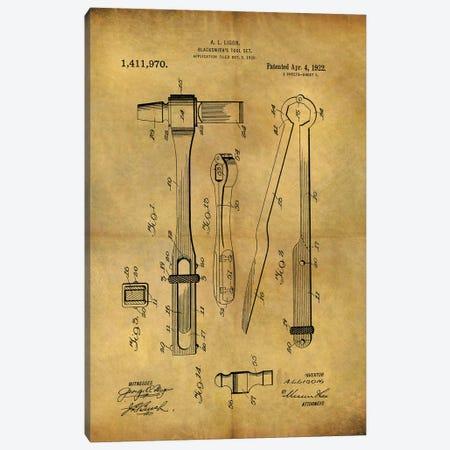 Blacksmith's Tool 1922 Canvas Print #DSP123} by Dan Sproul Art Print