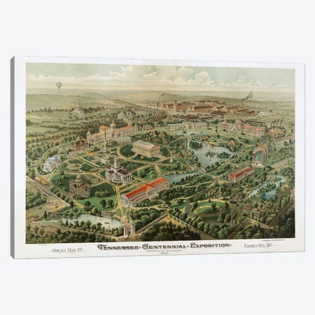 Tennessee Centennial Exposition, Nashville, Tennessee, 1897 Canvas Print #DSP94} by Dan Sproul Canvas Wall Art