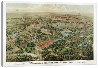 Tennessee Centennial Exposition, Nashville, Tennessee, 1897 Canvas Art Print