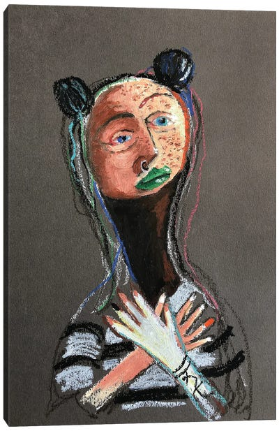 Freckles Canvas Art Print