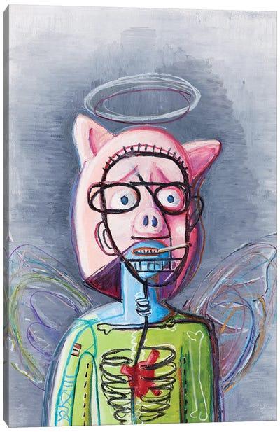 Piggy Canvas Art Print