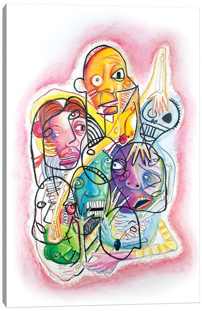 Tangle Canvas Art Print
