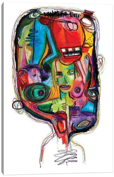 The Skinfull Canvas Art Print