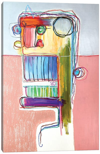 Tusk Canvas Art Print