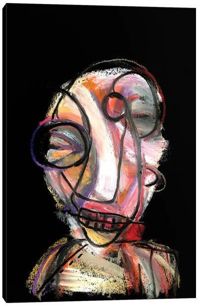 Boy Bacon Canvas Art Print