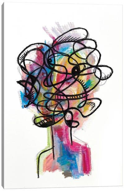 Chaos Canvas Art Print
