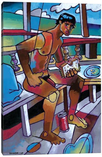 Sandwich Canvas Art Print