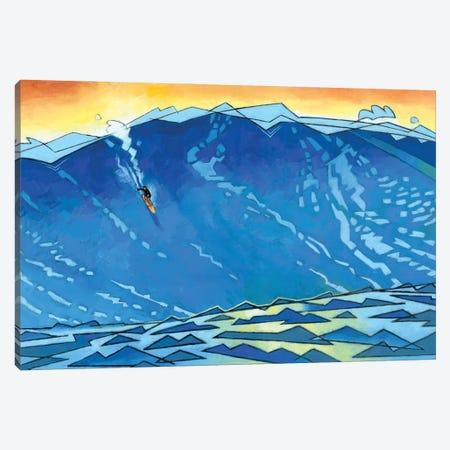 Big Wave Canvas Print #DSS106} by Douglas Simonson Canvas Art