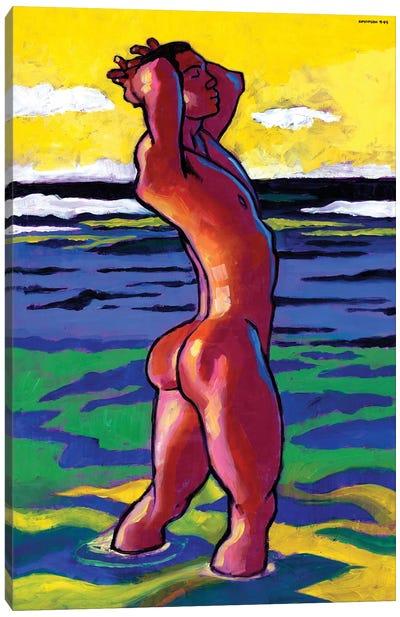 Caribe Canvas Art Print