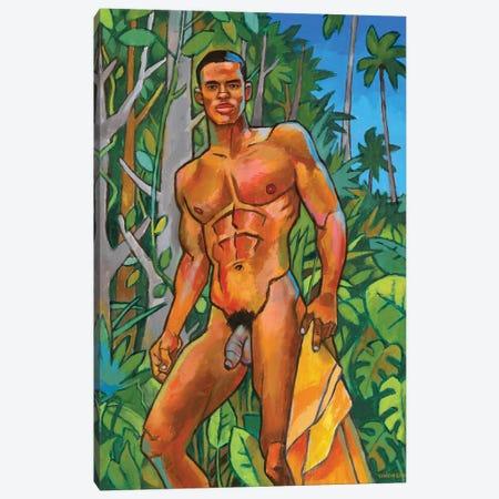 Coastal Jungle Canvas Print #DSS16} by Douglas Simonson Canvas Print