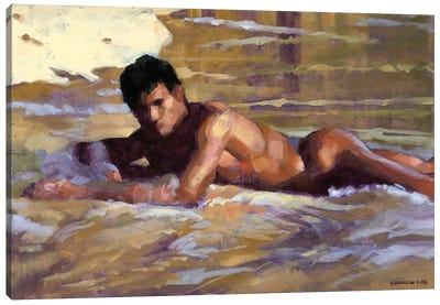De Tardinha Canvas Art Print