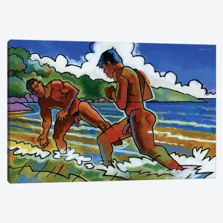 Fight Beach Canvas Print #DSS24} by Douglas Simonson Canvas Art