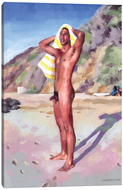 After The Surf Session Canvas Art Print