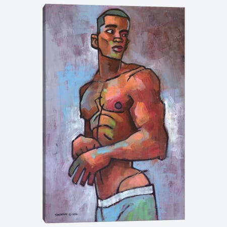 Jordy's New Suit Canvas Print #DSS32} by Douglas Simonson Canvas Artwork