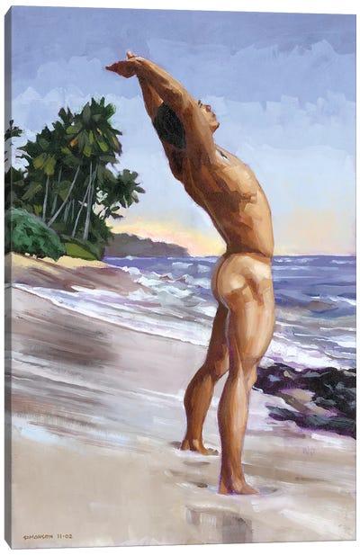 Shawn's Sunrise Stretch Canvas Art Print