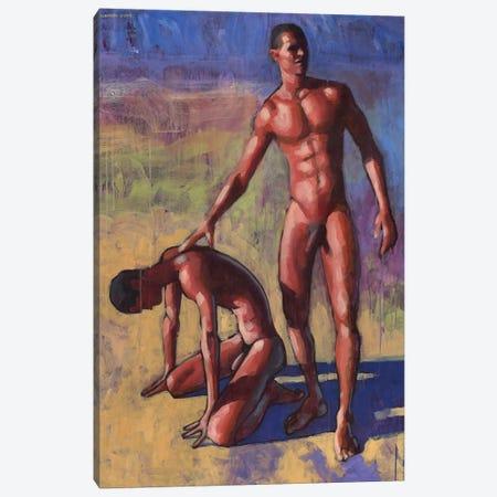 Study For Salvador Painting Canvas Print #DSS64} by Douglas Simonson Canvas Wall Art