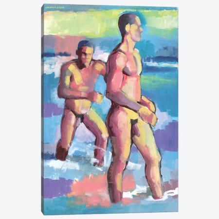 Summer In Bahia 3-Piece Canvas #DSS65} by Douglas Simonson Canvas Wall Art