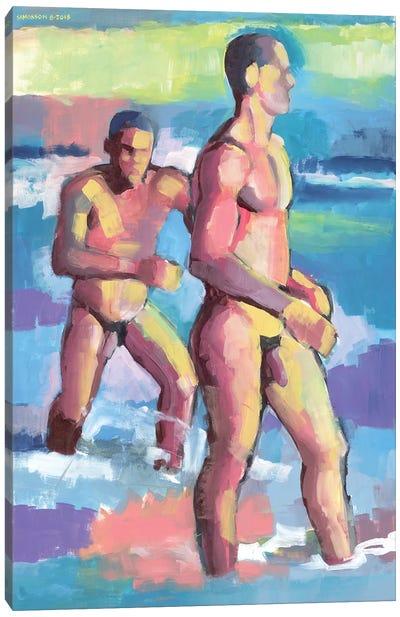 Summer In Bahia Canvas Art Print