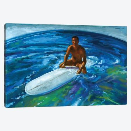 Surfer World Canvas Print #DSS69} by Douglas Simonson Canvas Art Print