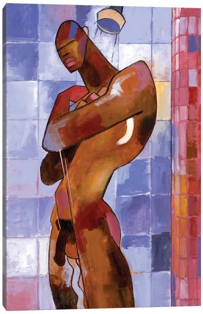 The Shower Canvas Art Print