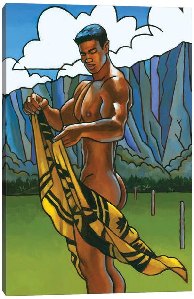 Waimanalo Field II Canvas Art Print