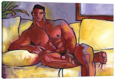 Big Brown Canvas Art Print