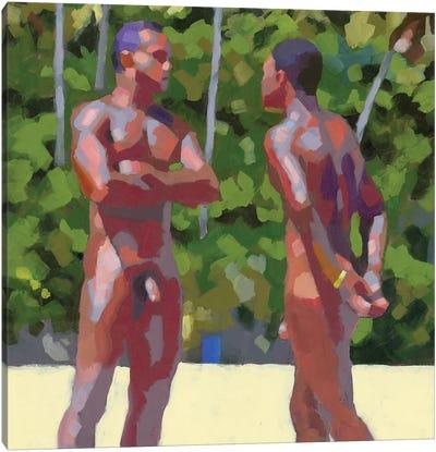 Baianos Desnudos Canvas Art Print