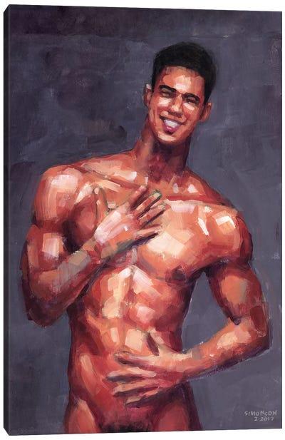 Regular Guy Canvas Art Print