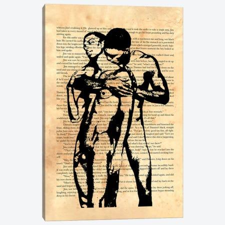 Then He Slipped Off His Shorts Canvas Print #DSS94} by Douglas Simonson Canvas Art Print