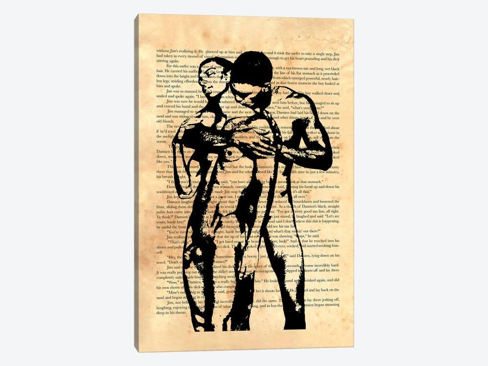 Then He Slipped Off His Shorts by Douglas Simonson 1-piece Art Print
