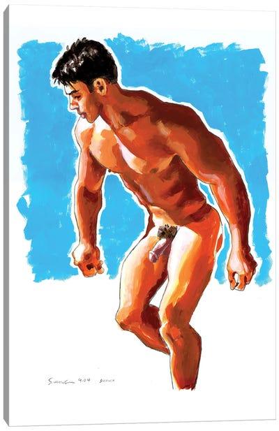 Man In Motion II Canvas Art Print