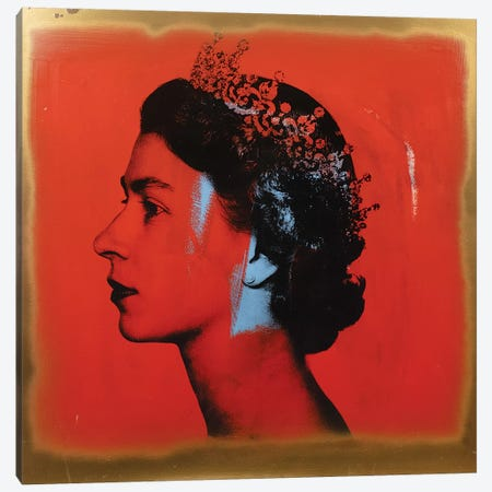 The Queen Canvas Print #DSU102} by Dane Shue Canvas Art Print