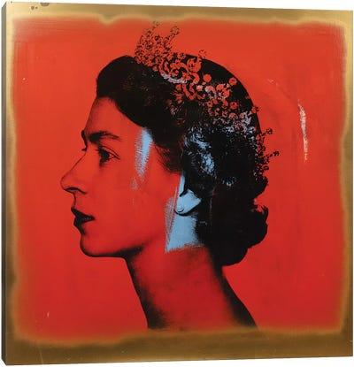The Queen Canvas Art Print