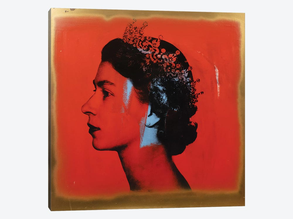 The Queen by Dane Shue 1-piece Canvas Wall Art
