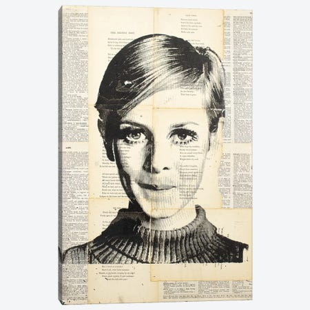 Twiggy Canvas Print #DSU104} by Dane Shue Canvas Art