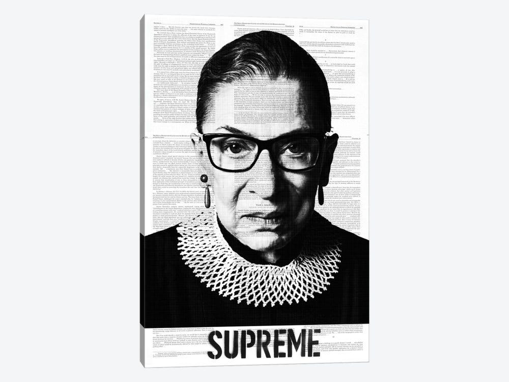 Ruth Bade Ginsburg Supreme by Dane Shue 1-piece Art Print