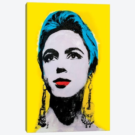 Edie Sedgwick Canvas Print #DSU109} by Dane Shue Art Print